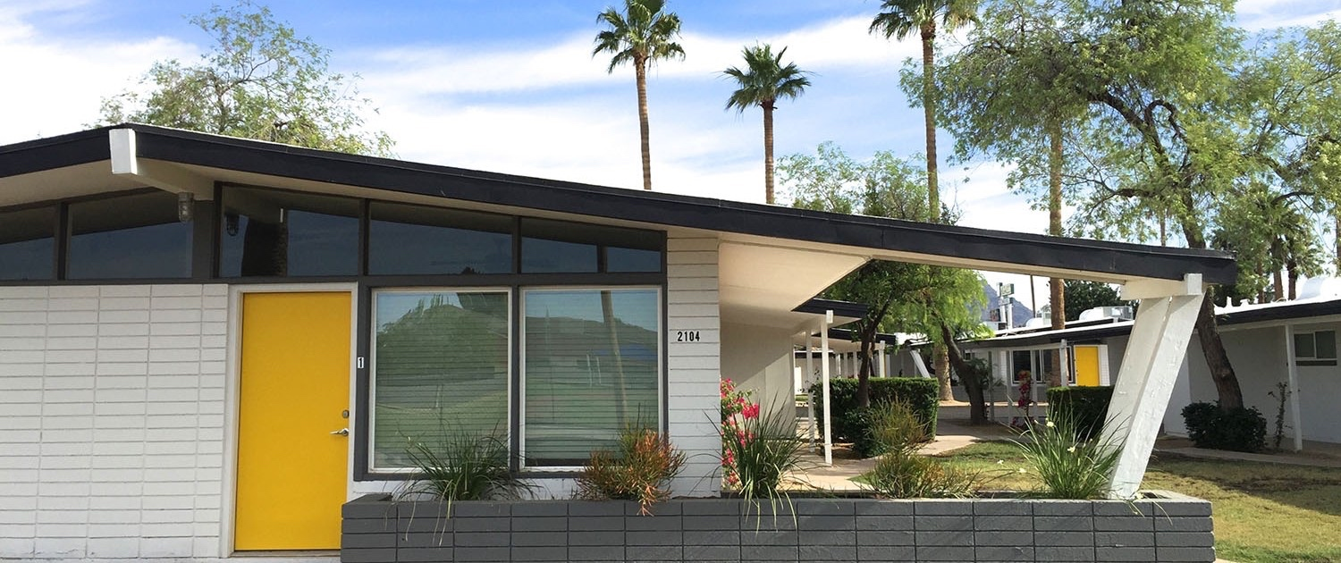 MODE Apartments + Homes | Midcentury Modern Apartments For Rent In Phoenix Arizona